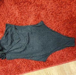 Tops - One shoulder bodysuit